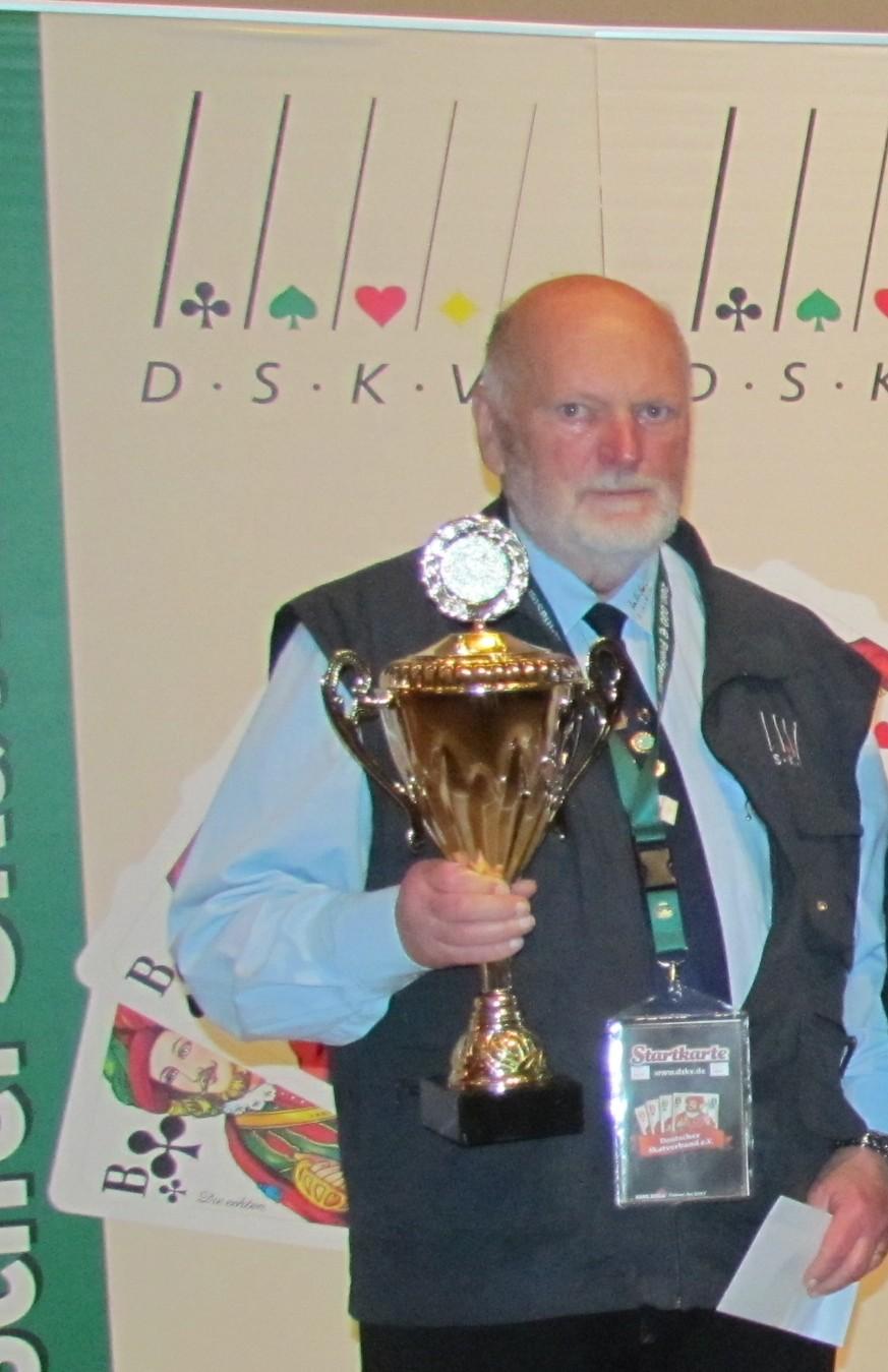Kurt Schneider Deutscher Senioren Vizemeister 2013