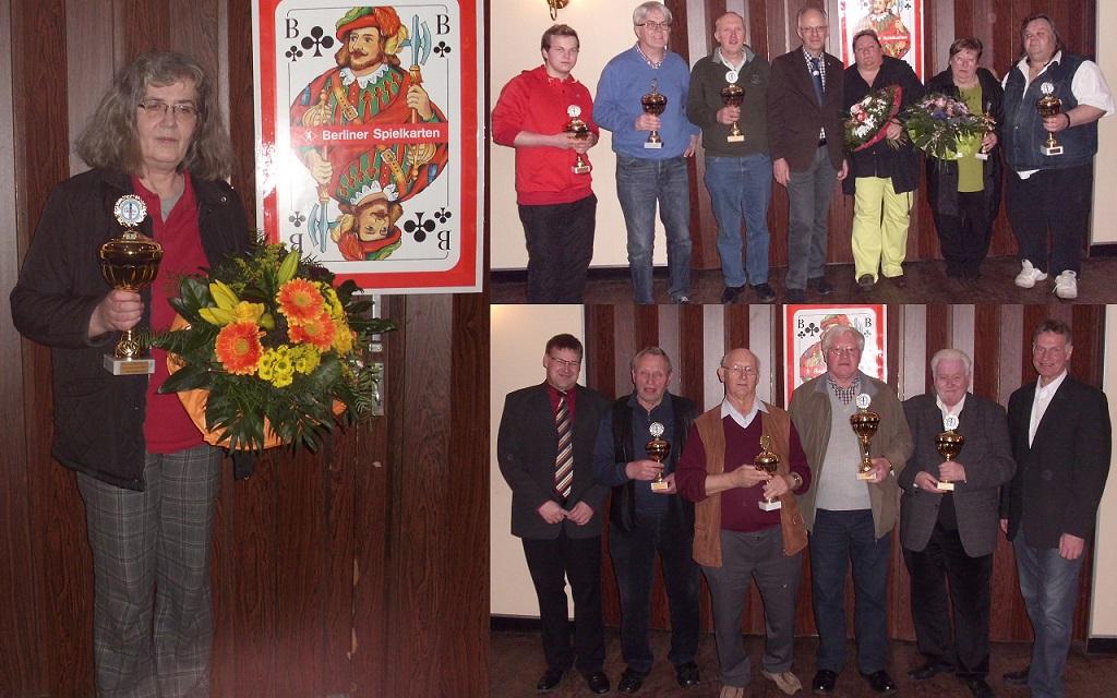 Sieger der SkVWE Einzelmeisterschaft 2014