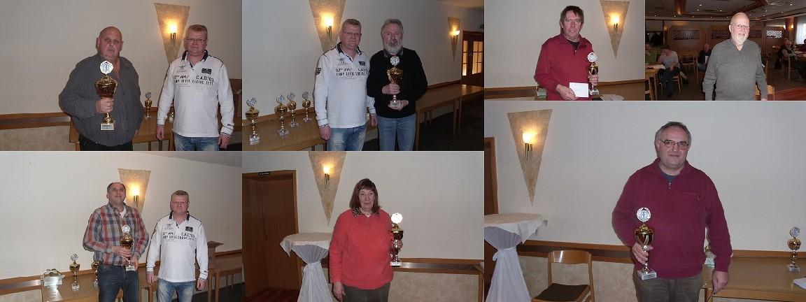 Ranglistensieger und Staffelsieger