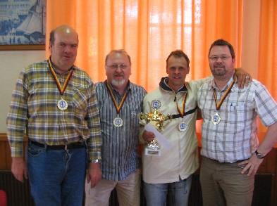 Sieger Herrenmannschaft Friesenjungs Wiesmoor II