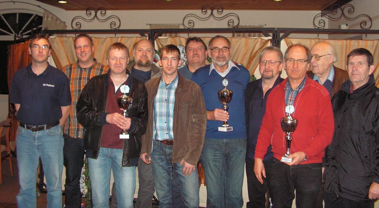 Sieger Mannschaftsmeisterschaft 2012